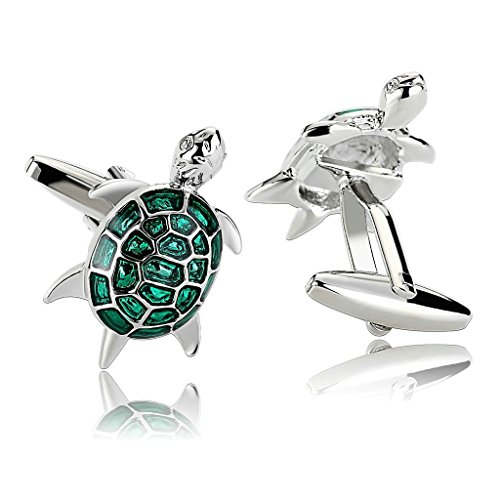 epinki-men-stainless-steel-novelty-animal-cufflinks-sea-turtles-design-green-cufflinks