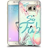 Head Case Designs Tropical Flamant Super Étui Coque en Gel molle pour Samsung Galaxy S7 edge