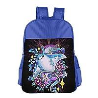 AIDEAR Mantine Pokemon Cartoon Funny Children Fashion Pack School Bag