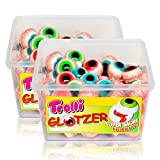 2x Trolli Glotzer Schaumzucker Gummibonbons mit saurer fruchtiger Füllung 60 stk.