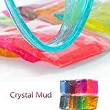 #6: Masrin 2PC Clay Slime DIY Crystal Mud Play Transparent Magic Plasticine Kid Toys (Random)
