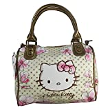 Hello Kitty Magnolia Bauletto Mini da Donna Bambina Ragazza Borsa a Spalla a Mano a Tracolla Scuola Tempo Libero Viaggio Idea Regalo - Hello Kitty - amazon.it