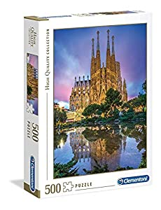 Clementoni Collection puzzle-barcelona-500 Unidades, Multicolor, 35062