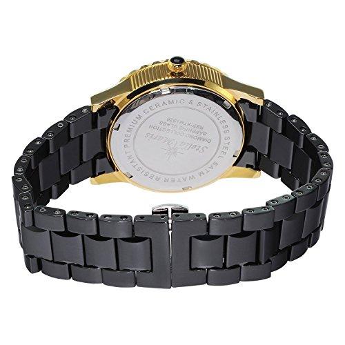 Stella-Maris-Womens-Quartz-Watch-with-Black-Dial-Analogue-Display-Black-Ceramic-Bracelet-and-Diamonds-STM15Z6