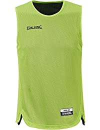 Spalding - Doubleface Kids Set Junior, color verde, talla XS/S