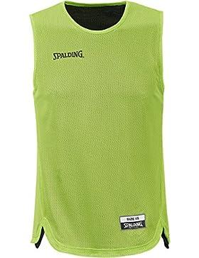 Spalding - Doubleface Kids Set Junior, color verde, talla XS/S