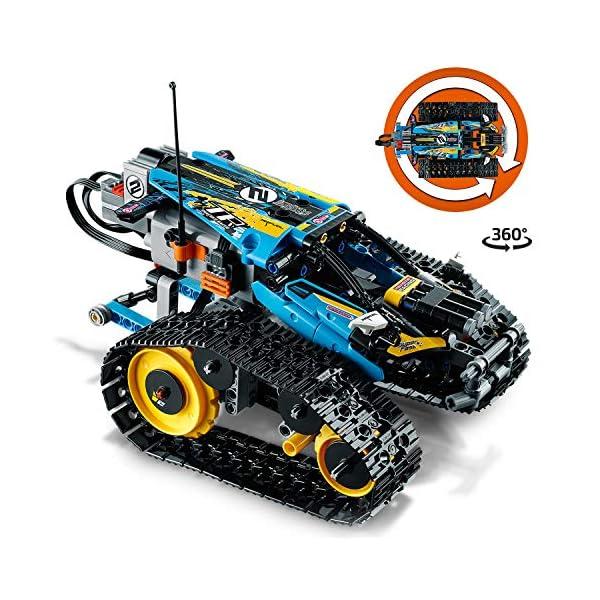 Lego - Technic Stunt Racer, Veicolo Telecomandato ad Velocità , Completamente Motorizzato, con Cingoli e Grandi Ruote… 2 spesavip