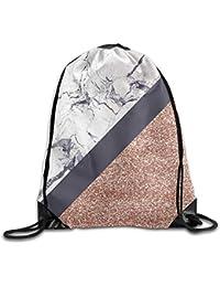AlineAline Drawstring Rucksack Shoulder Bags Gym Bag Lightweight Travel Backpack Blue Heart Cloud
