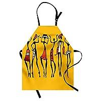 Orange Venue Mutfak Önlüğü, Afrikalı Dansçılar, 68 X 83 cm