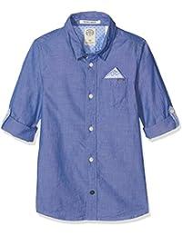 Scotch & Soda Blue Shirt, Chemise Garçon