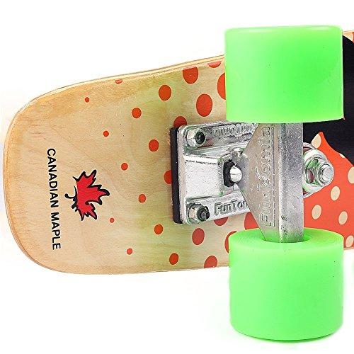 Zoom IMG-3 funtomia skateboard mini cruiser 57cm