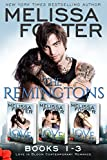 The Remingtons (Book 1-3, Boxed Set): Game of Love, Stroke of Love, Flames of Love
