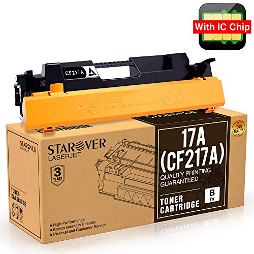 [Con Chip] 1-paquete Para HP 17A CF217A Cartucho De