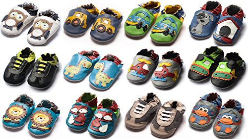 Jinwood designed by amsomo, Stivaletti bambini, Multicolore (cars green mini shoes), 20/21 EU