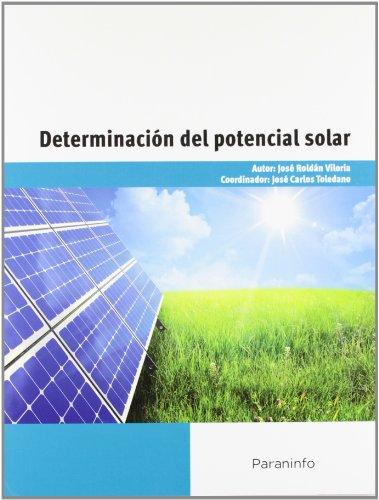 Determinación del potencial solar por JOSÉ ROLDÁN VILORIA