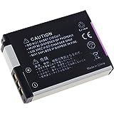 batterie compatible pour Nikon Coolpix S6150, Li-Ion, 1050mAh, 3,7V, 3,9Wh, noir