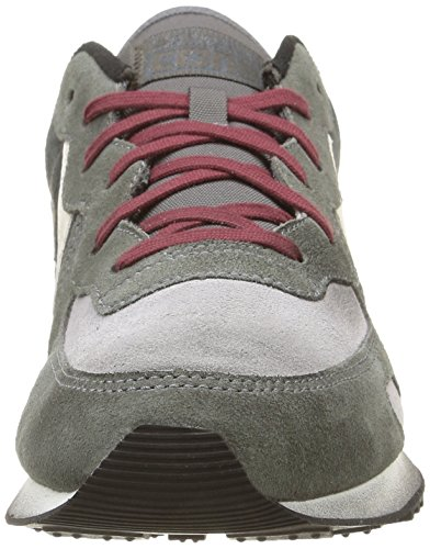 Converse, Auckland Racer Ox Suede Metalp Sneaker,Unisex Adulto Grey Dust/Charcoal