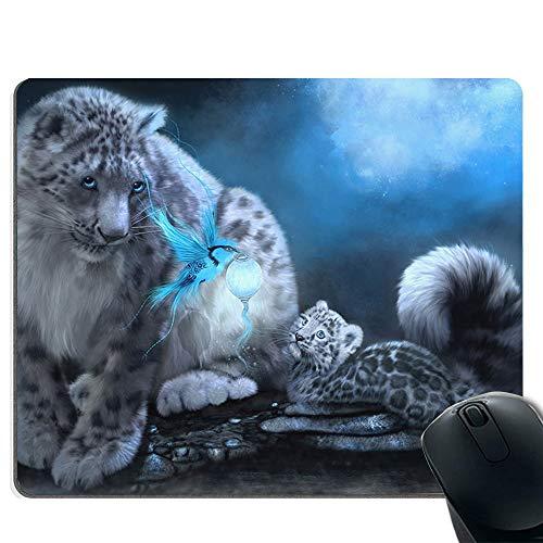 Pad wasserdicht, perfekter Schreibtisch und Home-Desk-Matte - ruhige Geparden -
