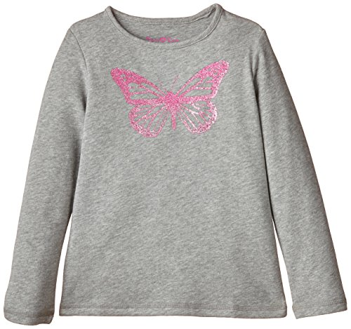 Ben & Lea Mädchen Sweatshirt, Gr. 122 (Herstellergröße: 122/128), Grau