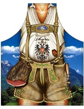 Österreich Lustige Schürze = Tiroler Mann = Das Original direkt von ITATI-Textilien (GR-28666)