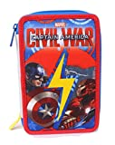 Seven Captain America Civil War 3B8011603-591 Astuccio, Poliestere, Multicolore
