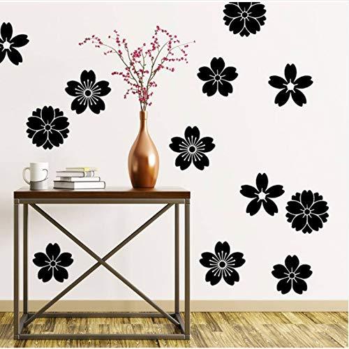Cczxfcc Blossom Flower Wandtattoo Sakura Wand Dekor Abnehmbare Kinder Kinderzimmer Vinyl Wohnzimmer Dekor Aufkleber Kinder Jungen Zimmer Aufkleber