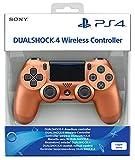 Manette sans fil Dual Shock 4 pour PS4 - metallic copper