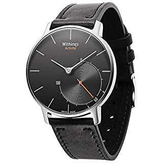 Withings Activité Sapphire - Smartwatch mit Aktivitäts- und Schlaftracker - Schweizer Fabrikat Schwarz (B00NLAGYBA) | Amazon price tracker / tracking, Amazon price history charts, Amazon price watches, Amazon price drop alerts