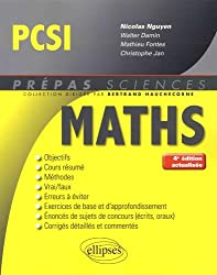 Mathématiques PCSI - 4e édition actualisée