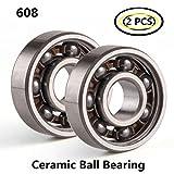 2-pcs Rodamientos de bolas de cerámica mezclados de acero inoxidable...