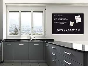 sonderpreis selbstklebende magnetische tafelfolie wandfolie wandtafel kreidetafel schwarz. Black Bedroom Furniture Sets. Home Design Ideas