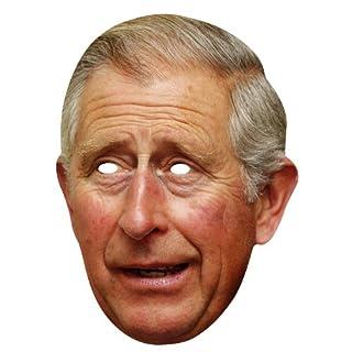 Star Cutouts Kartonmaske Bedruckt mit Gesicht von Prince Charles