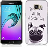 Coque Samsung Galaxy A5 (2016), Fubaoda [chien] artistique Série Peinture Étui TPU silicone élégant et sobre pour Samsung Galaxy A5 (2016) (A510)