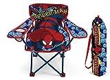 Kinder Campingstuhl AUSWAHL Spiderman Hello Kitty Minnie Maus Klappstuhl Stuhl Sessel Gartenstuhl (Spiderman)
