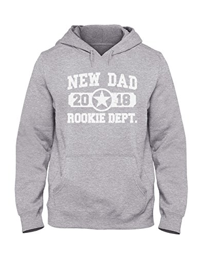 Sudadera Capucha Hombre - New Dad 2018 Rookie Department