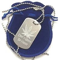 Foglia Di Cannabis Personalizzato Alluminio Militari Dell'esercito