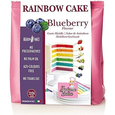 Arco iris de Cake Colour azul oscuro/mirtillos
