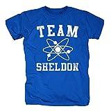 TSP The Big Bang Theory - Team Sheldon T-Shirt Herren XL Königsblau
