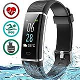 Seneo Fitness Watch, IP68 Waterproof Fitness Tracker Colour Screen Activity Tracker with Heart