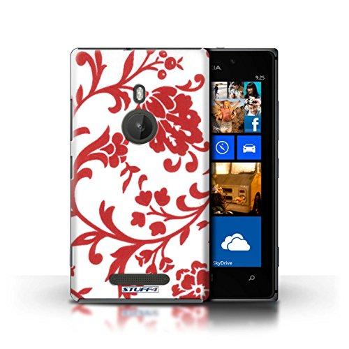 iCHOOSE Print Motif Coque de protection Case / Plastique manchon de telephone Coque pour Apple iPhone 5/5S / Collection Motif floral / Fleurs Rouge Fleurs Rouge