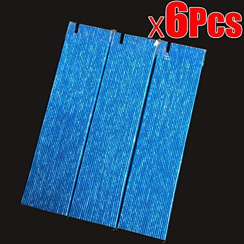 NO LOGO SY-KTLJ, 6 Piezas Filtro de purificador de Aire for DaiKin MC70KMV2 Serie MC70KMV2N MC70KMV2R...