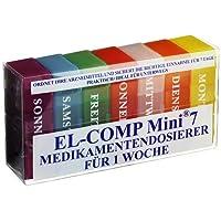 MEDIKAMENTENDOSIERER EL-COMP mini 7 Kunststoffbox 1 St preisvergleich bei billige-tabletten.eu