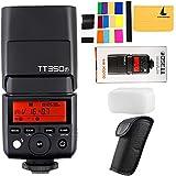 Fotocamera digitale Flash Speedlite Godox TT350F 2,4 G HSS 1/8000s TTL GN36, per fotocamere Fuji X-Pro2 X-T20 X-T2 X-Prol X-T10 X-El X-A3 X100T, ecc.