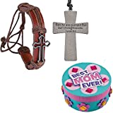 Best Cross Jewelry Boxes - Mothers Day Gift Set | Metal Cross Bracelets Review