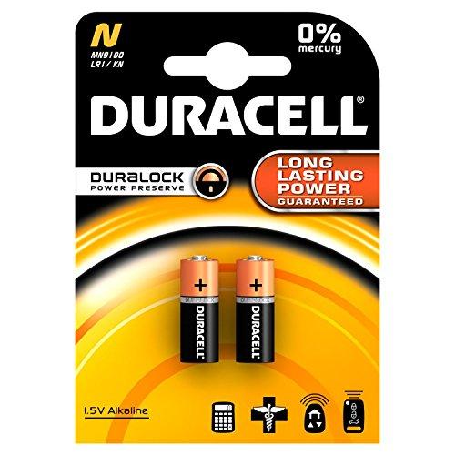 Duracell Lady Typ N, LR1, 4001, 4901, MX9100, 910A (9100) Alkali 1,5 Volt 2er-Blister