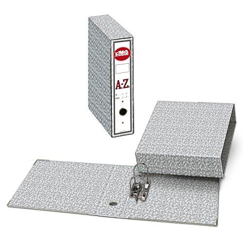 Archivador A-Z + Caja PRAXTON Gris Jaspedado
