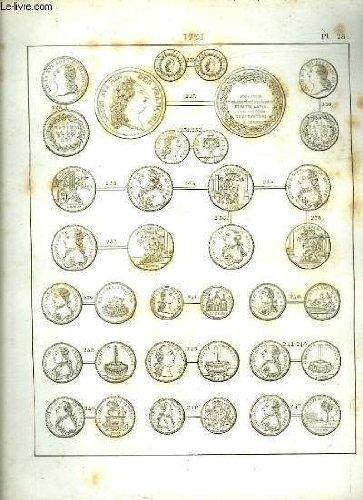 Histoire numismatique de la révolution française. planche n°25 : 1791