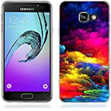 Coque Samsung Galaxy A3 (2016), Fubaoda Artistique Série Étui TPU silicone élégant et sobre pour Samsung Galaxy A3 (2016) (A310)