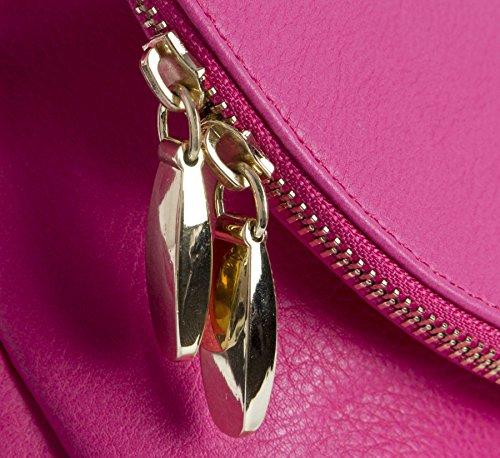 Big Handbag Shop - Borsa a tracolla donna (Navy (NL220))