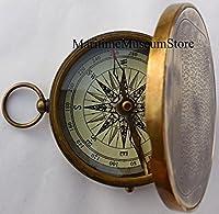 Antique Vintage de Robert Frost Poème Gravé Compass.C-3142